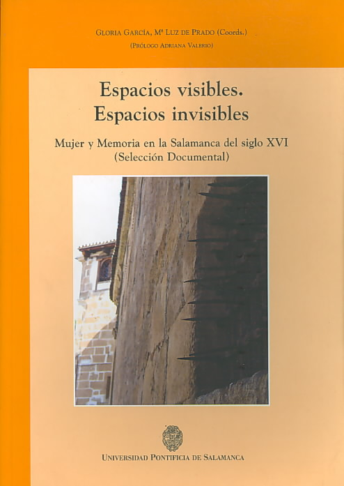 Espacios visibles, espacios invisibles/ Visible Spaces, Invisible Spaces By Garcia, Gloria/ De Prado, M' Luz
